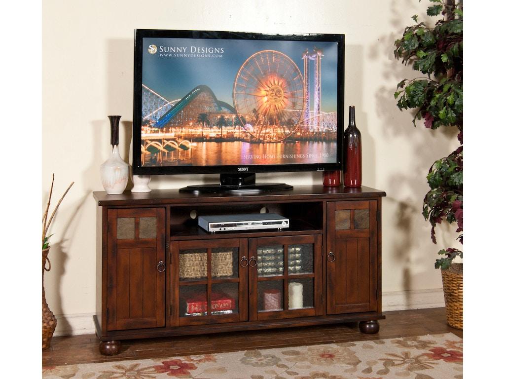 Sunny Designs Home Entertainment Santa Fe Tv Console