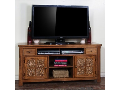 "Rustic Birch 64"" TV Console"