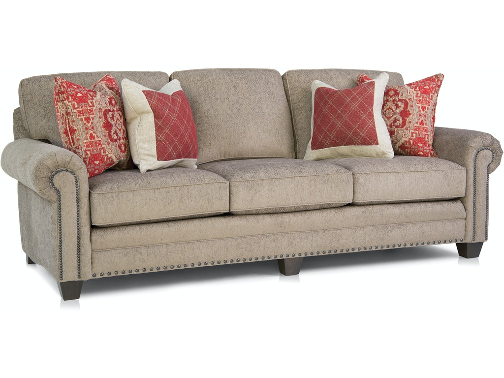 Smith brothers living room large sofa 235 13 good 39 s for Decent furniture
