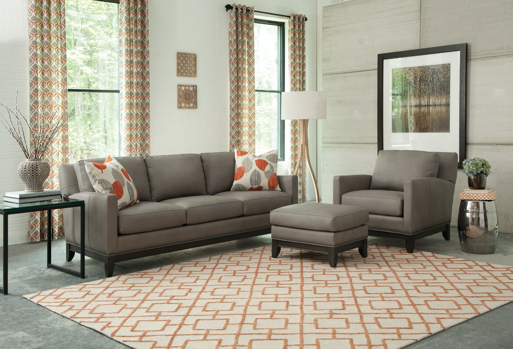 Smith Brothers Living Room Ottoman 238-40