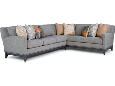 Smith Brothers Sectional 238- Sectional