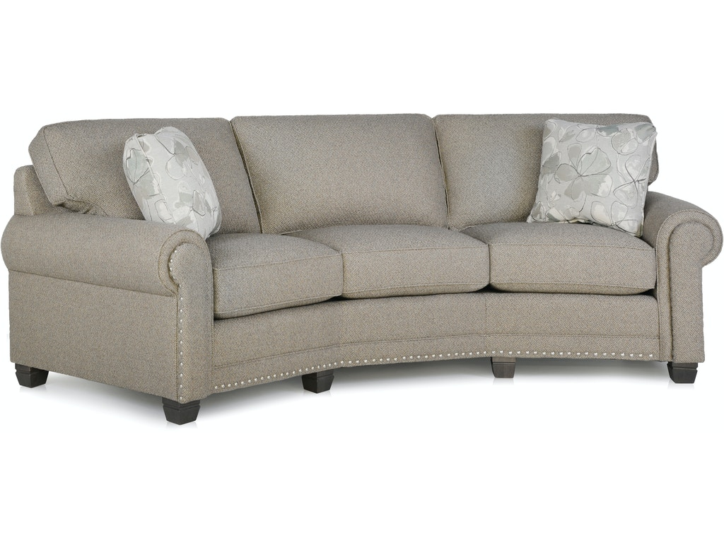 Smith Brothers Living Room Conversation Sofa 393 12