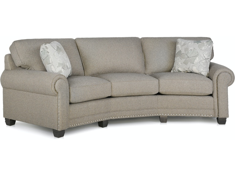 Smith Brothers Living Room Conversation Sofa 393 12 Hickory Furniture Mart Nc