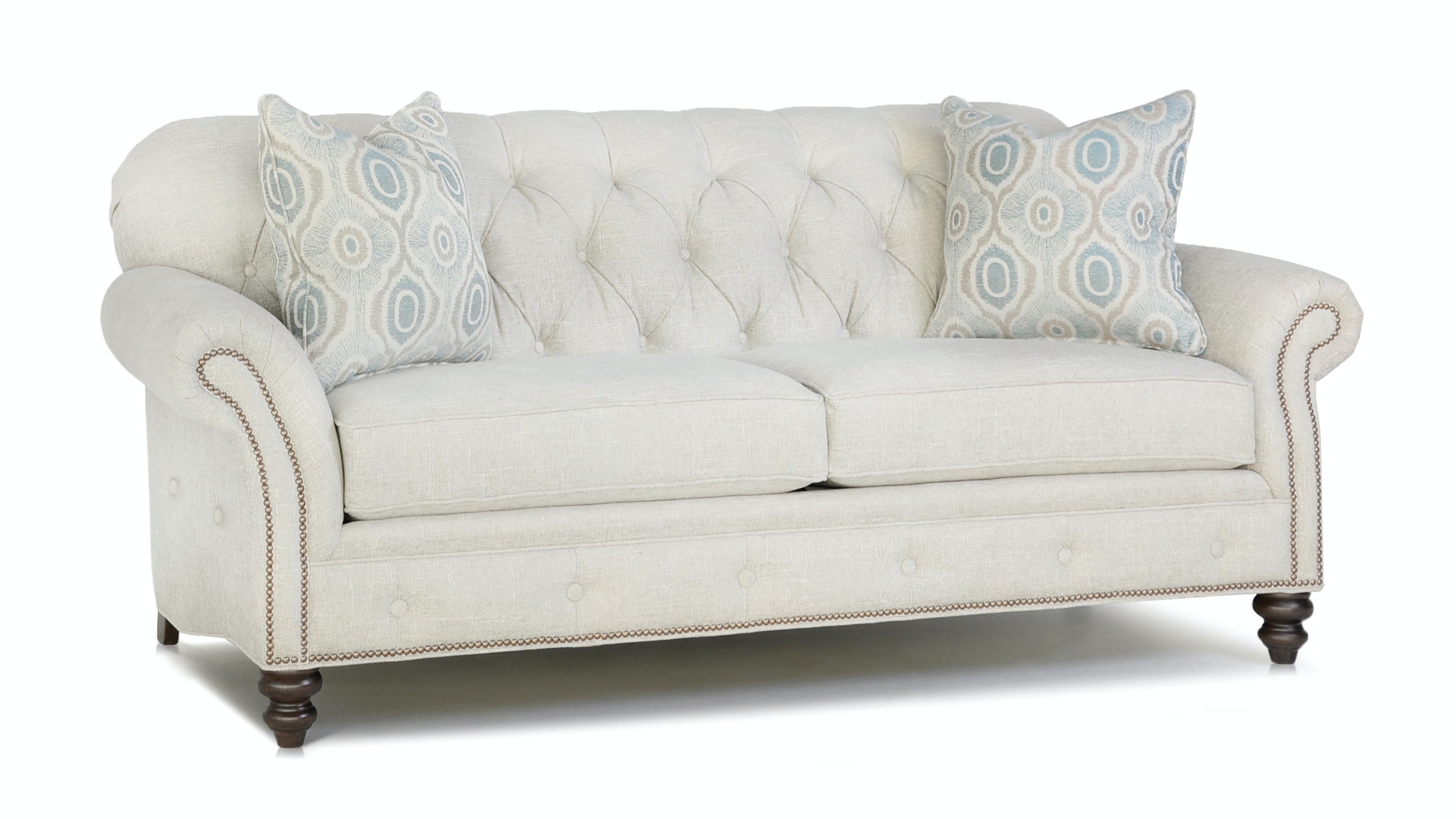Smith Brothers Two Cushion Sofa 396 10 ...