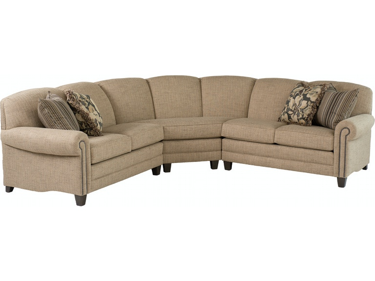 Smith Brothers Living Room 397-Sectional - Anderson ...