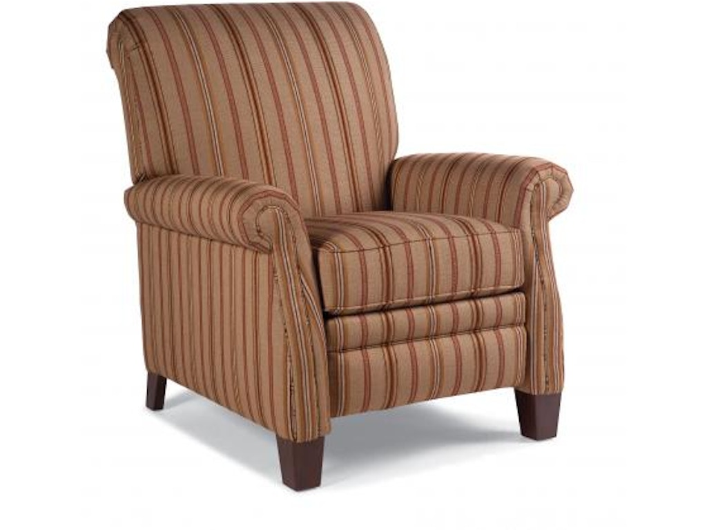 Smith brothers living room pressback reclining chair 704 for K furniture mattress