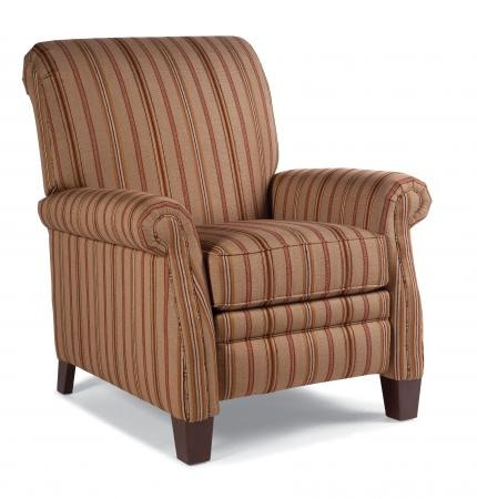 Smith Brothers Pressback Reclining Chair 704 33