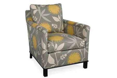 CR Laine Living Room Gotham Chair 5535 Malouf Furniture