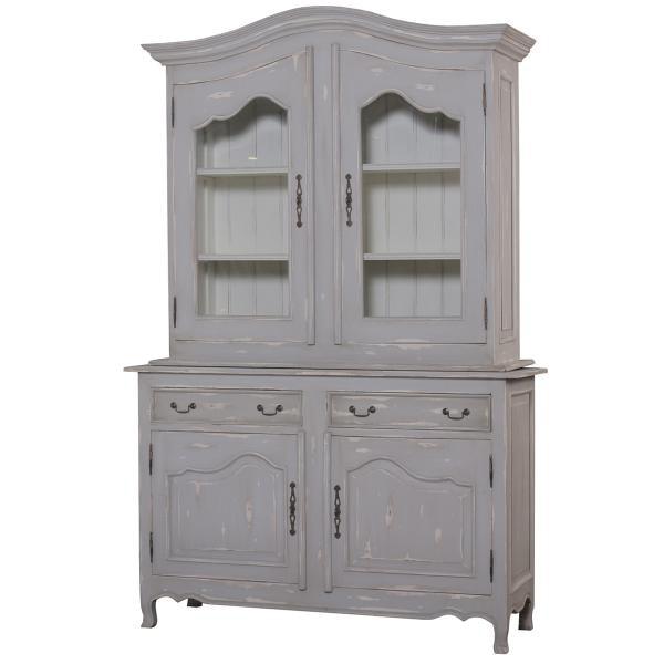 ... Bramble Baroque Armoire With 2 Glass Doors 23351