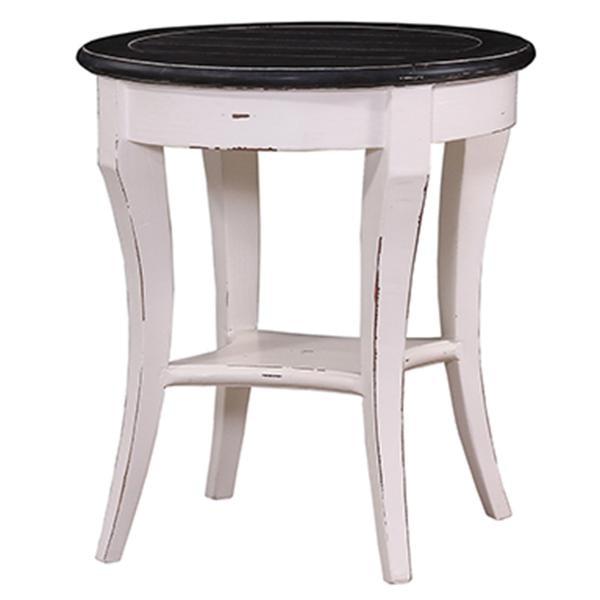 ... Bramble Bradley Round Side Table 23539 ...