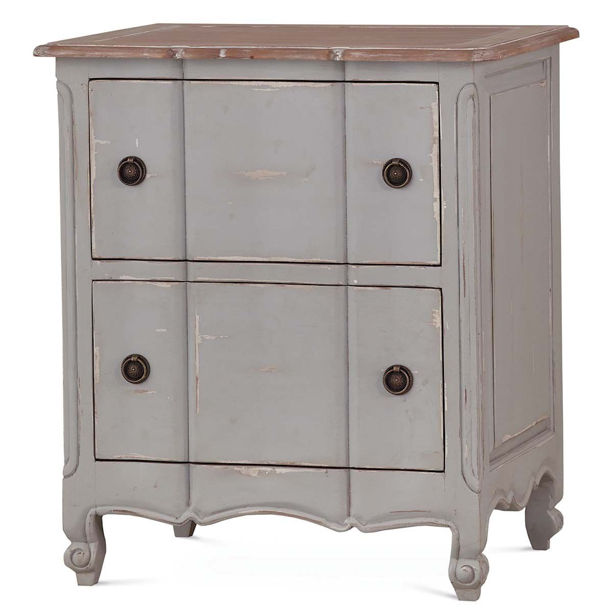 Bramble Provence Nightstand Cabinet 24171