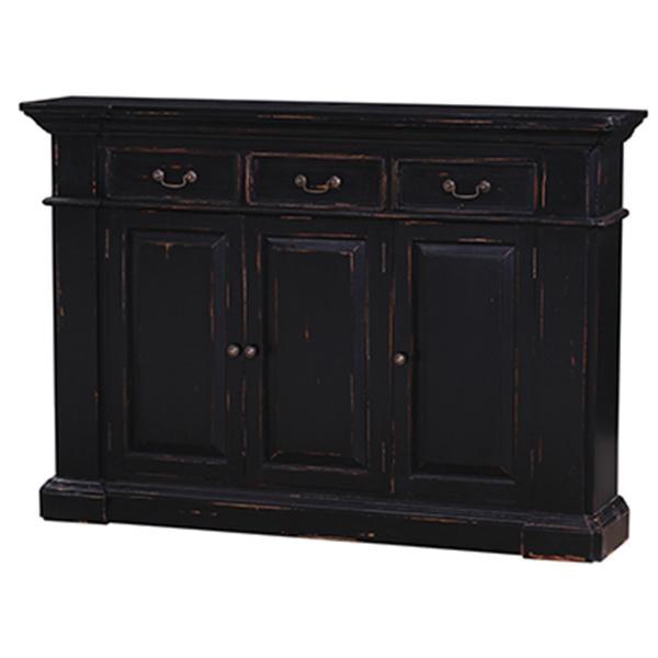 Bramble living room roosevelt 3 drawer narrow sideboard for Home gallery furniture roosevelt blvd
