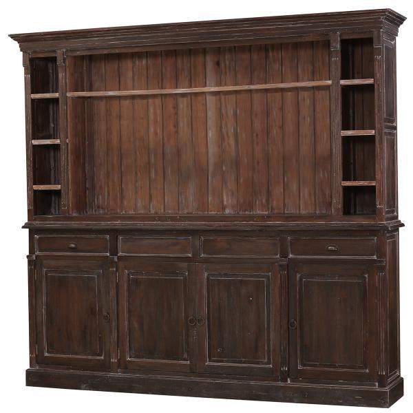 ... Bramble Hudson Open Media Cabinet 25768 ...