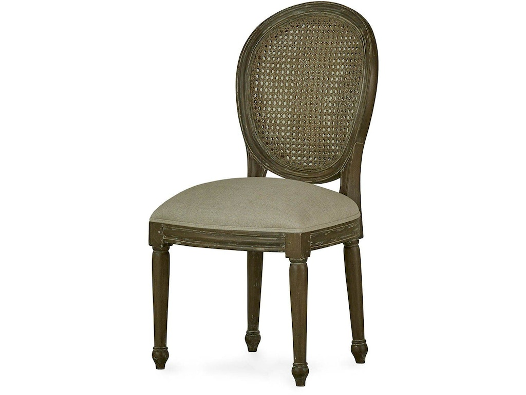 Bramble Dining Room Tulip Rattan Back Dining Chair without ...