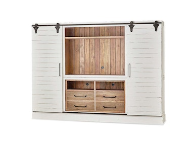 Bramble Sonoma Entertainment Cabinet With Sliding Doors 26569