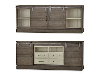 Bramble Sonoma Media Console 7 Feet 26743