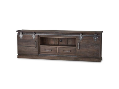 Bramble Sonoma Narrow Media Console 7 Feet 26793