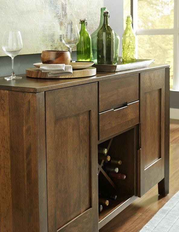 ... Borkholder Furniture Transitions Wine Server/Sideboard 40 1102XXX ...