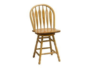 Tennessee Enterprises 24 Inches Colonial Windsor Bowback Barstool 5125H