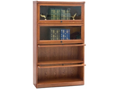 Tennessee Enterprises 4-Door Barrister Bookcase 8641BRH