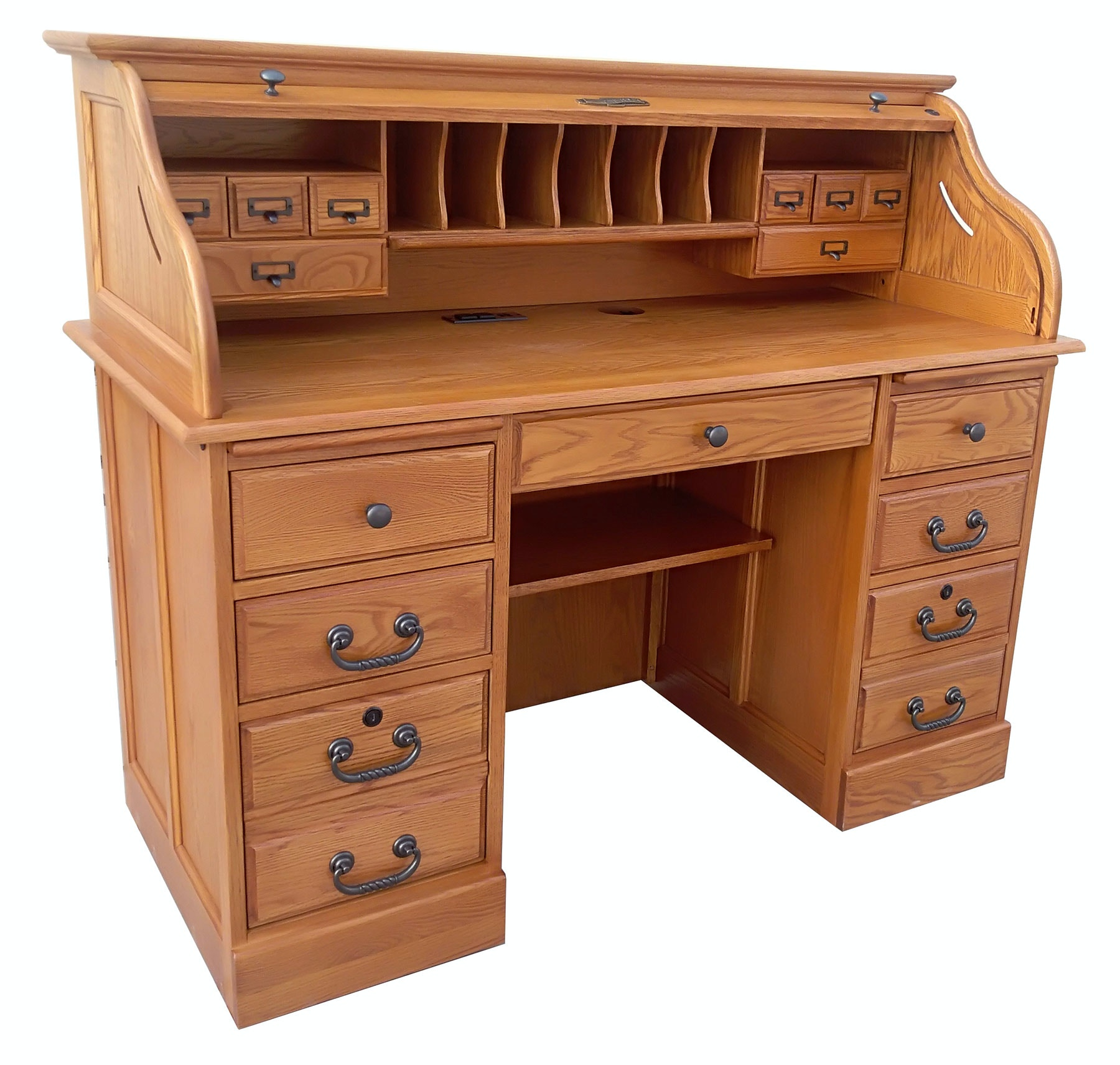 Tennessee Enterprises Home Office 54 Inches Roll Top Desk 8951H At Lynchs  Furniture Auburn