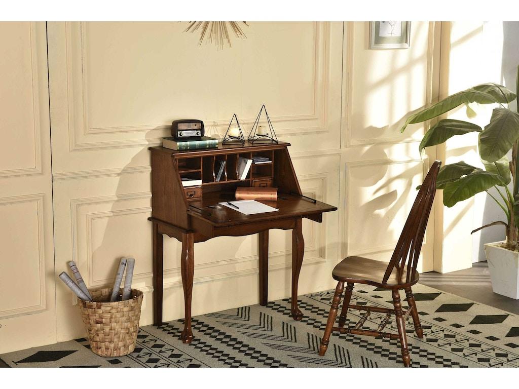 Tennessee Enterprises Home Office Secretary Drop Leaf Desk