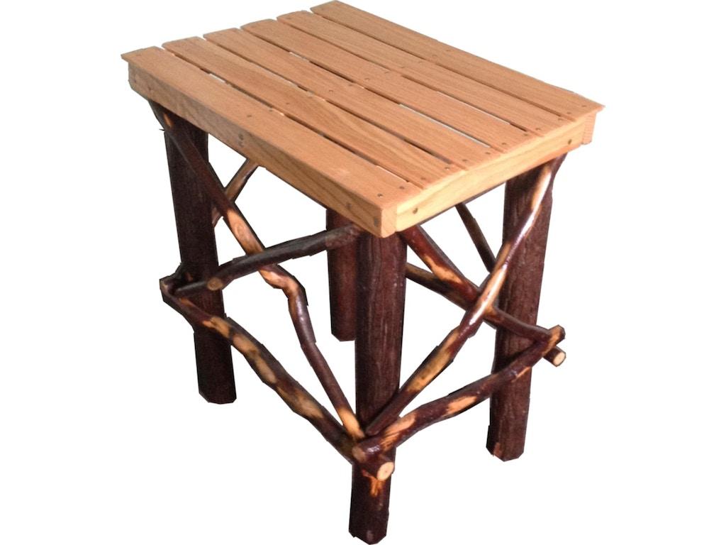 Tennessee Enterprises Living Room Side Table Hickory Oak 9962n Seaside Furniture Toms River
