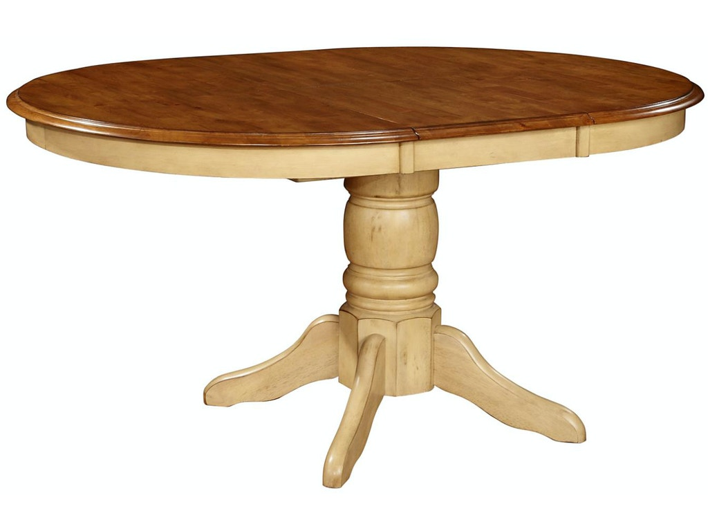 Tennessee Enterprises Quinton 30 Inches Height Pedestal Table QT4257PA Zoom