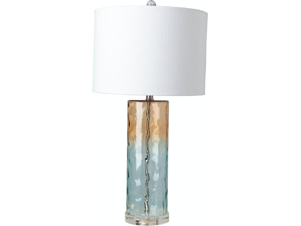 Surya Lamps And Lighting Astor 14 X 14 X 28 Table Lamp Aso