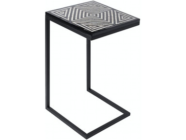 Surya Dunn 15 x 15 x 26 Accent Table DUNN100-151526