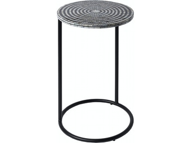 Surya Dunn 15 x 15 x 26 Accent Table DUNN101-151526
