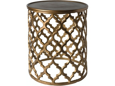 Surya Hammett 16.5 x 16.5 x 19.5 Accent Table HMMT100