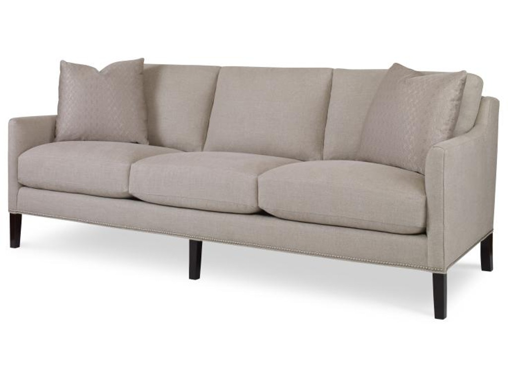 Highland house living room luke sofa 1166 89 north for Sofa mart couch warranty