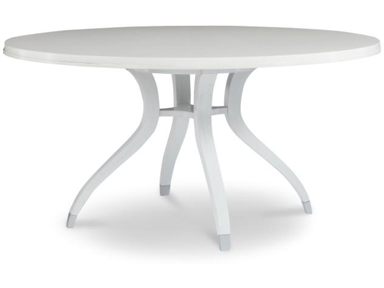 Highland House Dining Room Simon Inches Round Dining Table HH - Dining table 60 inches long
