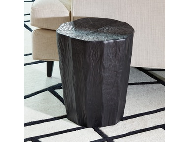 Global Views Trunk Stool-Black 1.10453