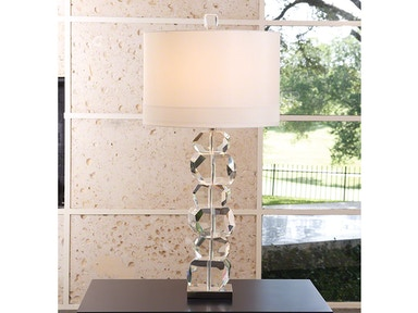 Global Views Stacked Gemstone Lamp-Tall 8.82165