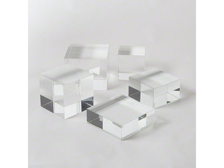 Global Views Crystal Cube Riser-Largest 8.81736