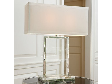 Global Views Crystal Slab Lamp 8.81563