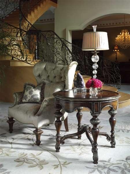 Marge Carson Living Room Chandler Chair CHD41A Louis