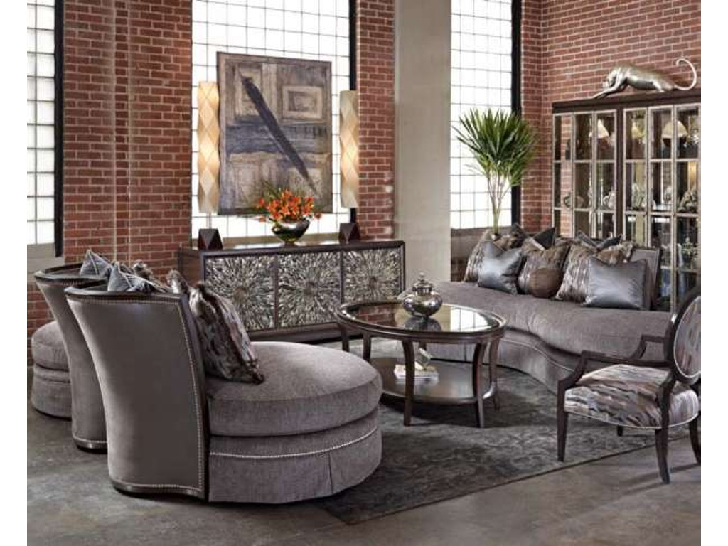 Marge Carson Living Room Kylie Sofa Kle43 Louis Shanks Austin San Antonio Tx