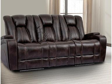 Parker Living Living Room Sofa Dual Reclining Power W Usb