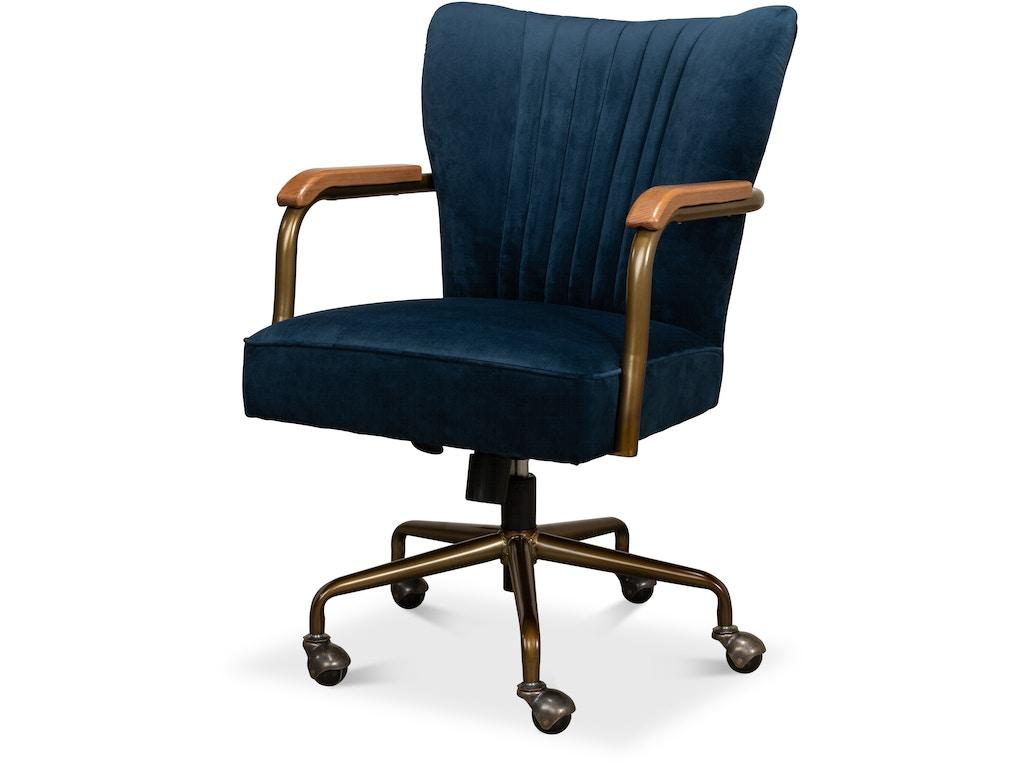 Sarreid Home Office Brooks Swivel Chair 30615 Priba