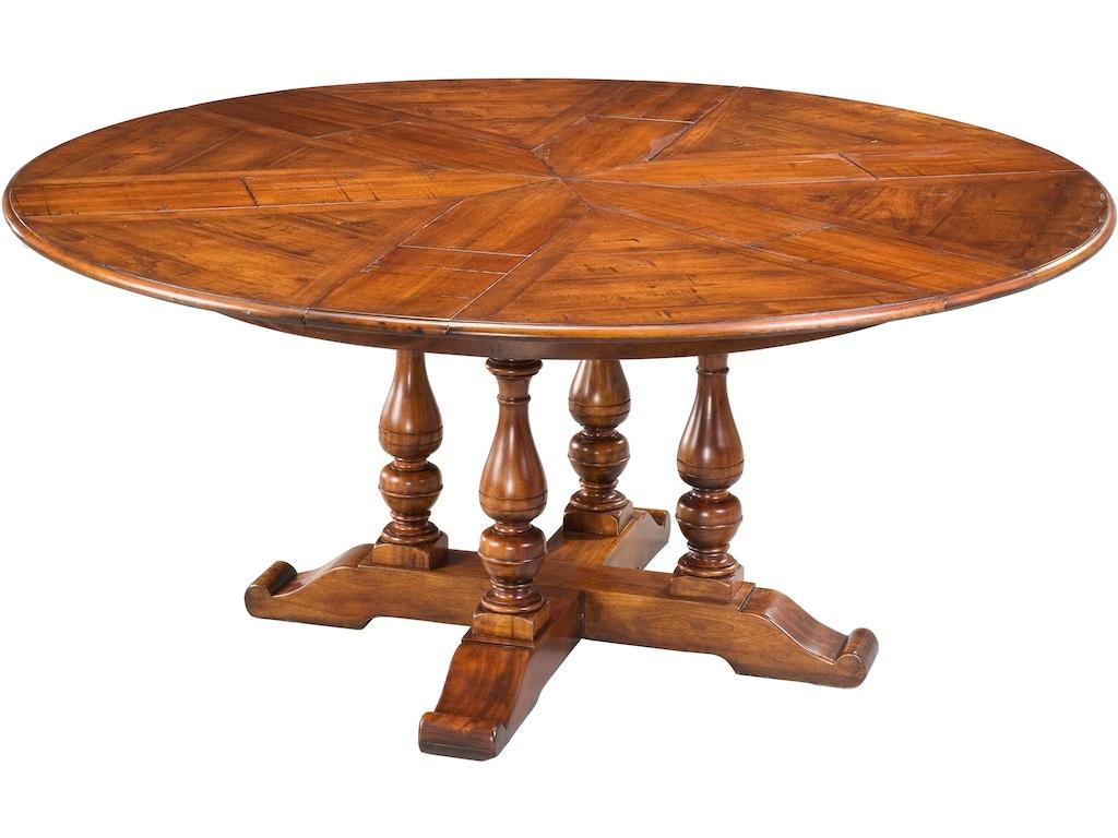 Sarreid dining room walnut jupe dining table medium 78 42 woodbridge interiors san diego ca - Dining room tables san diego ...