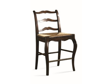 CTH-Sherrill Occasional Rush Seat Counter Stool