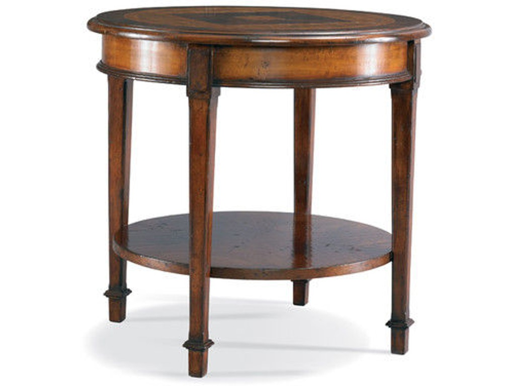 Cth sherrill occasional living room round end table 960 626 louis shanks austin san antonio tx Accent tables for living room