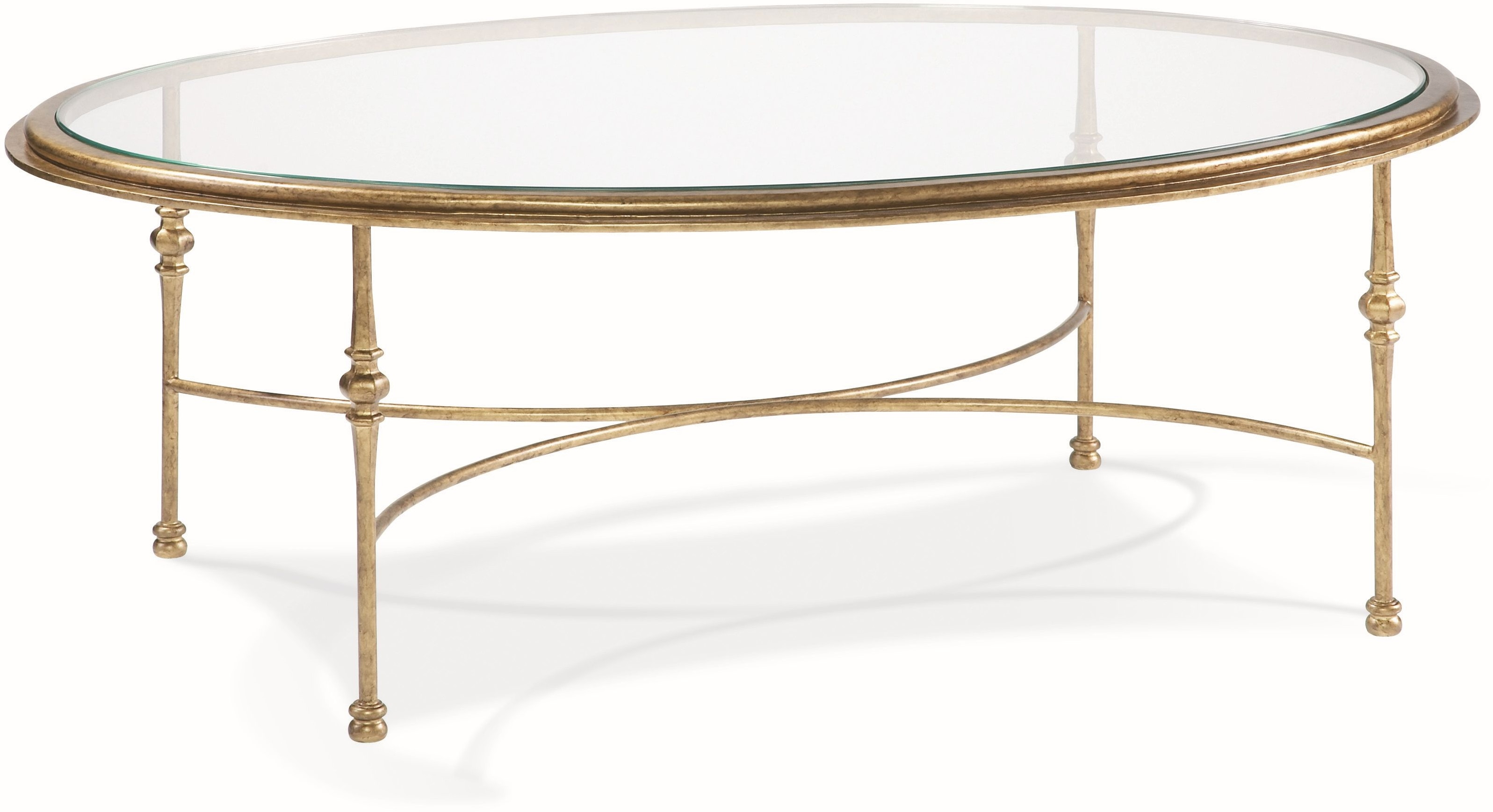 Cth Sherrill Occasional Living Room Oval Cocktail Table