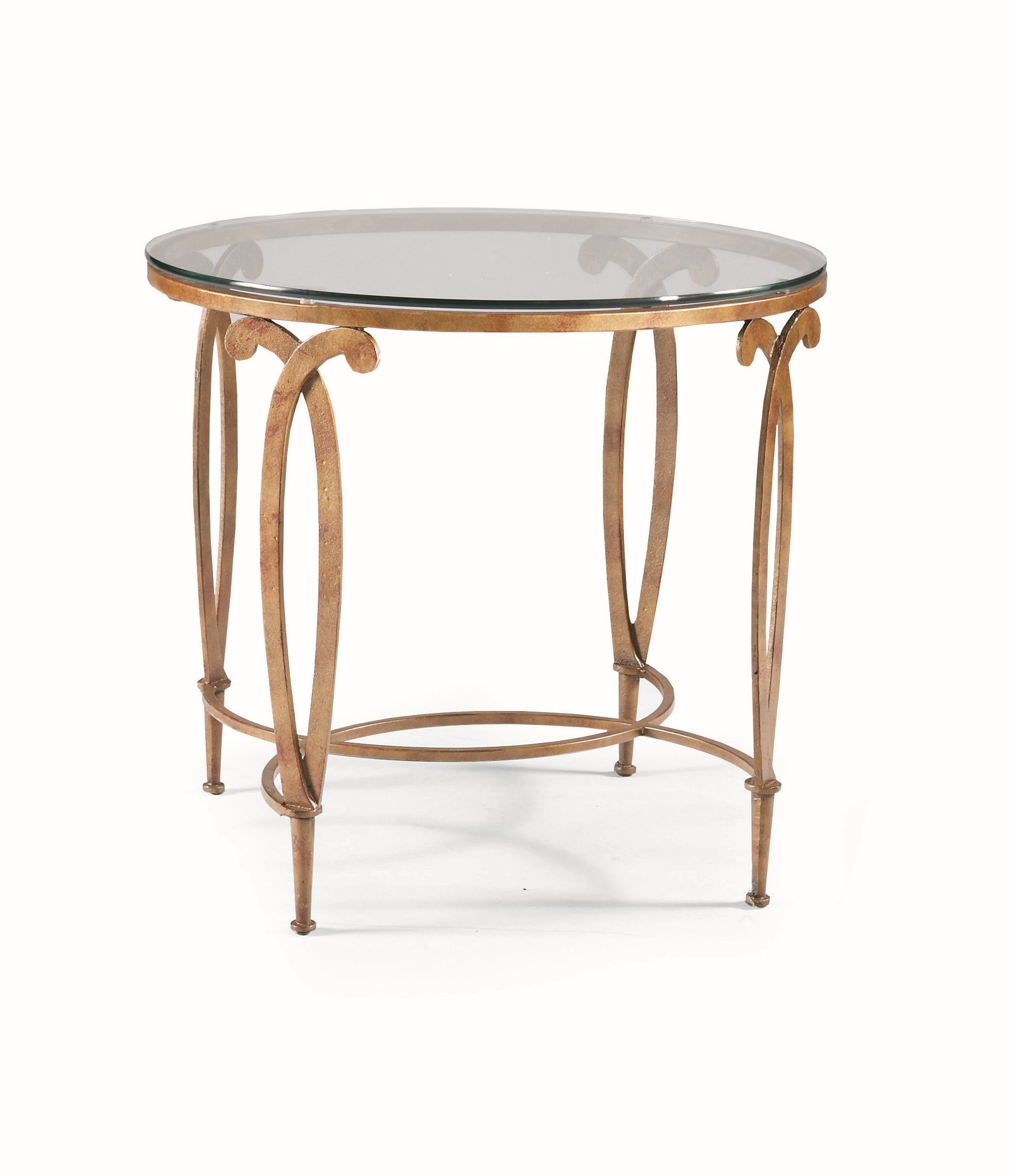 CTH Sherrill Occasional Living Room Round Lamp Table M68 30 At Douds  Furniture