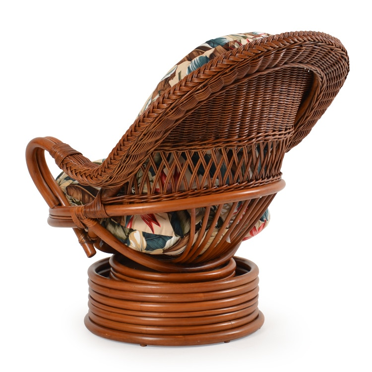 ... Watermark Living Rattan Swivel Rocker PALM241PGS ...