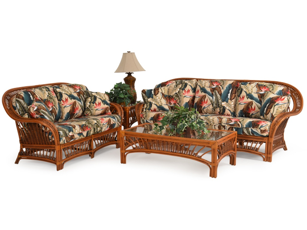 Palm Springs Rattan Living Room Rattan Sofa Palm4403pgs Royal Furniture And Design Key West
