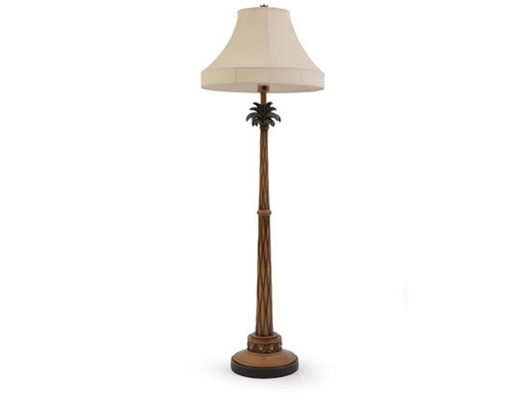 palm springs rattan lamps and lighting palm tree outdoor floor lamp. Black Bedroom Furniture Sets. Home Design Ideas